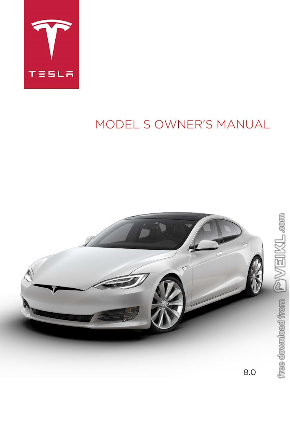 Tesla model s owners manual