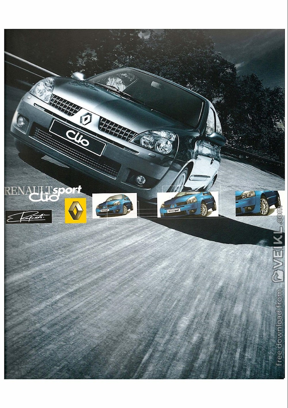 Renault Clio RS Ragnotti Brochure 2002 FR