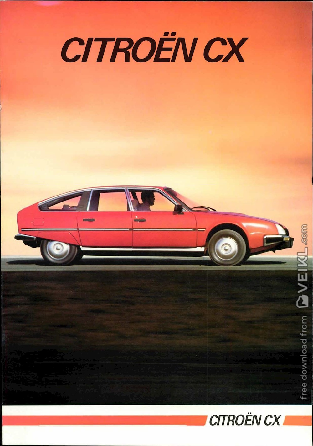 Citroen CX Brochure 1984 NL
