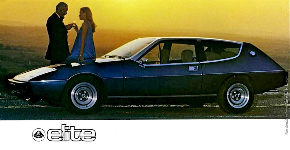 Lotus Elite Brochure 1976 EN
