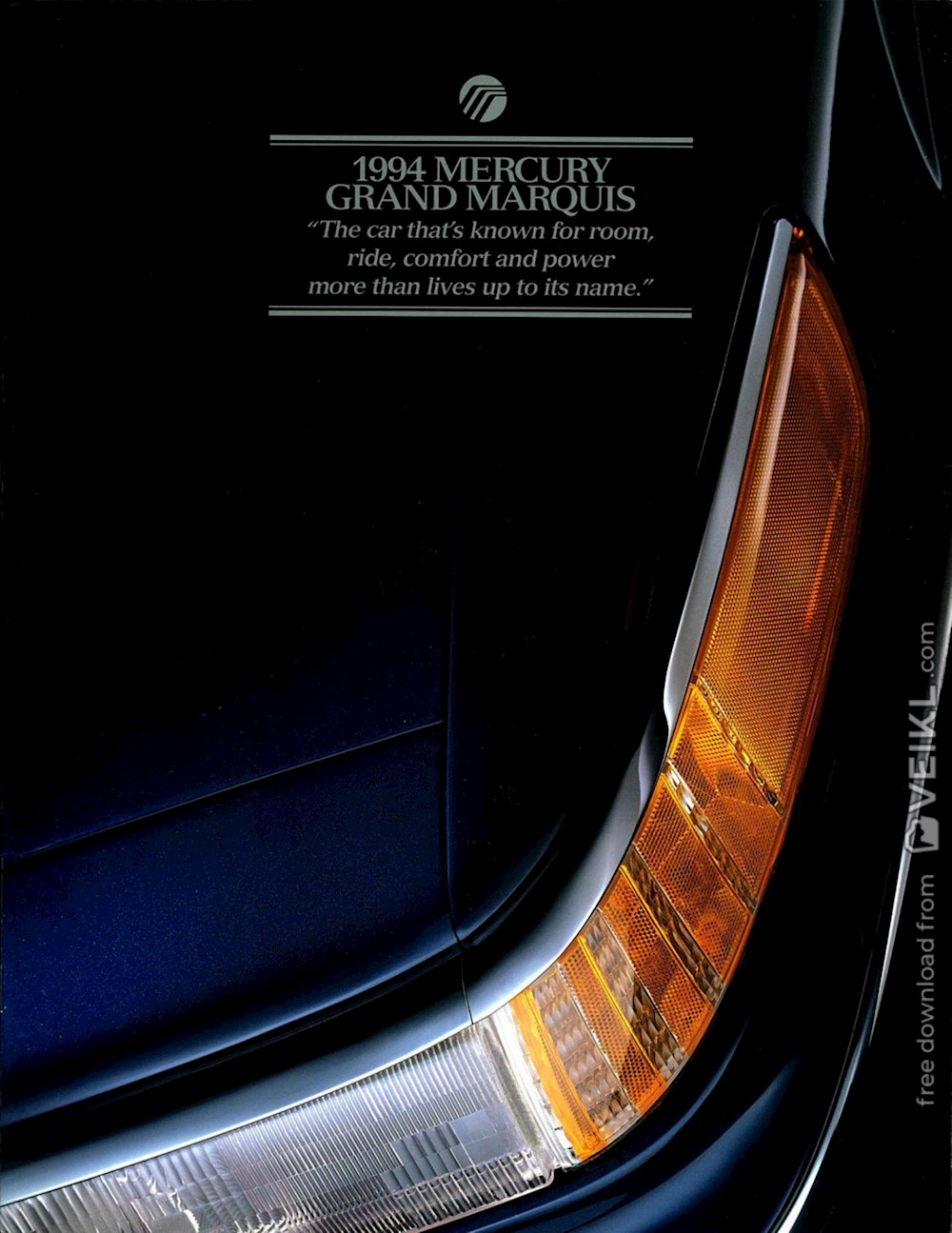 Mercury Grand Marquis Brochure 1994 EN