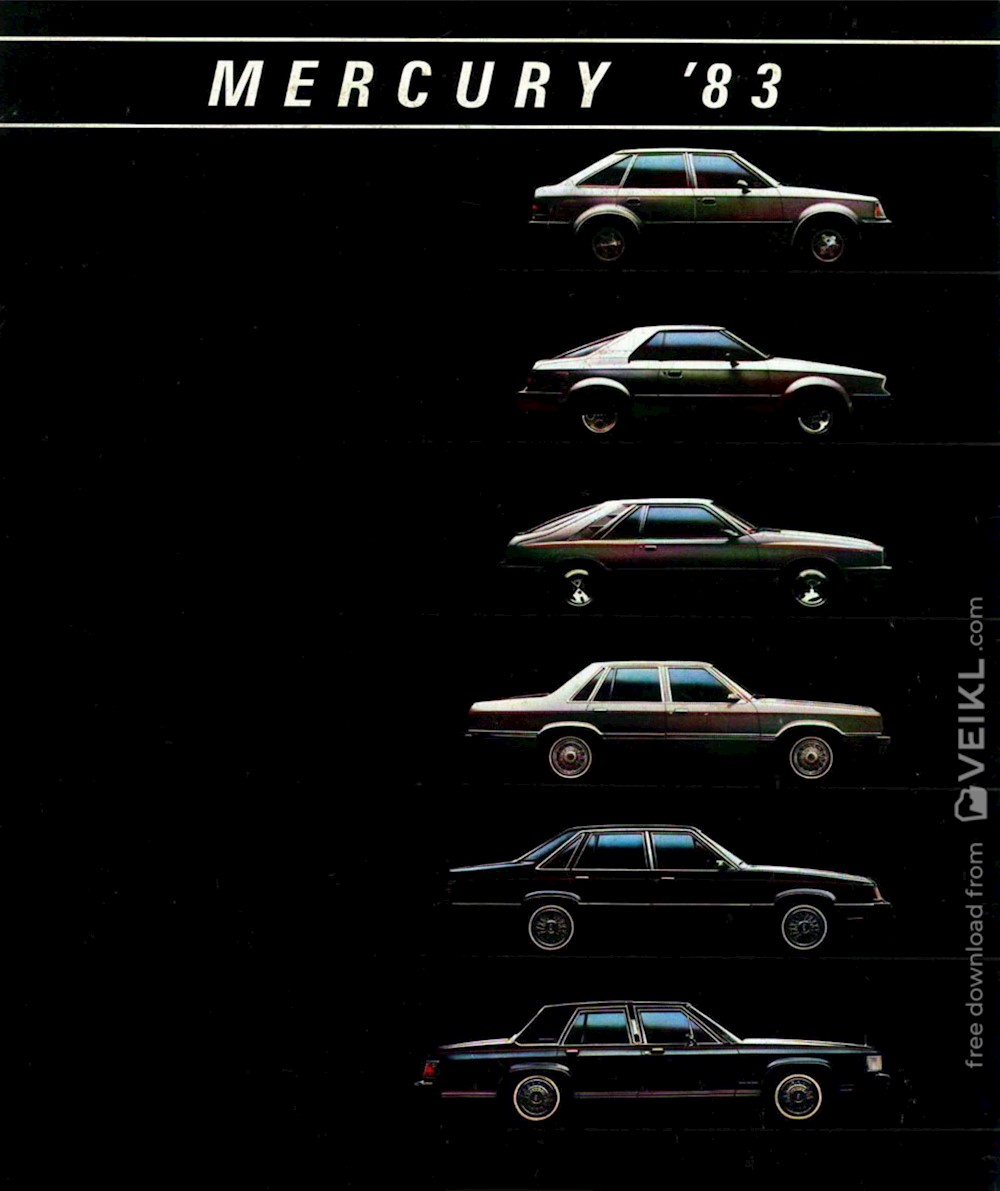 Mercury Full Range Brochure 1983 EN