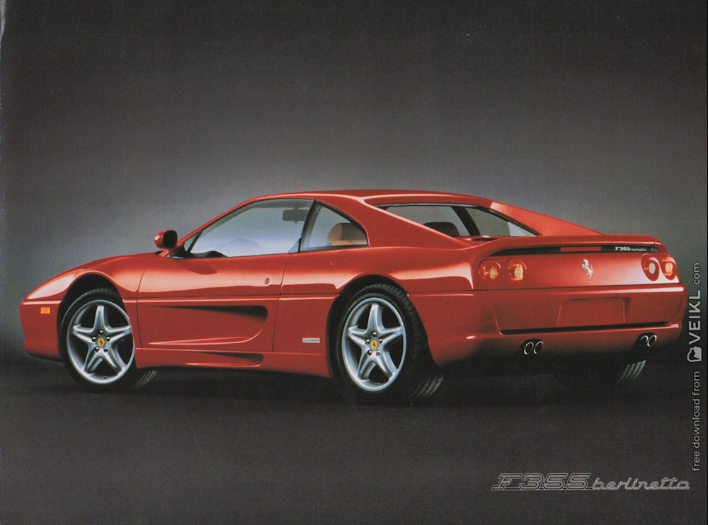 Ferrari F355 Berlinetta Brochure USA 1995 EN