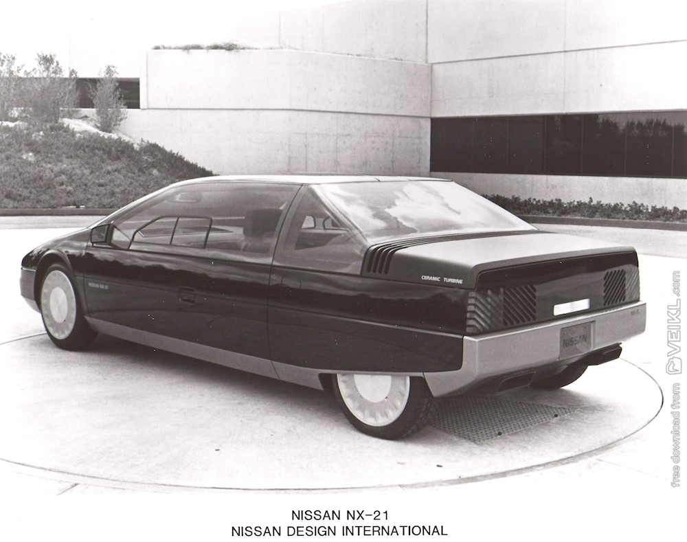 Nissan NX-21 Concept Photo Press 1983 EN