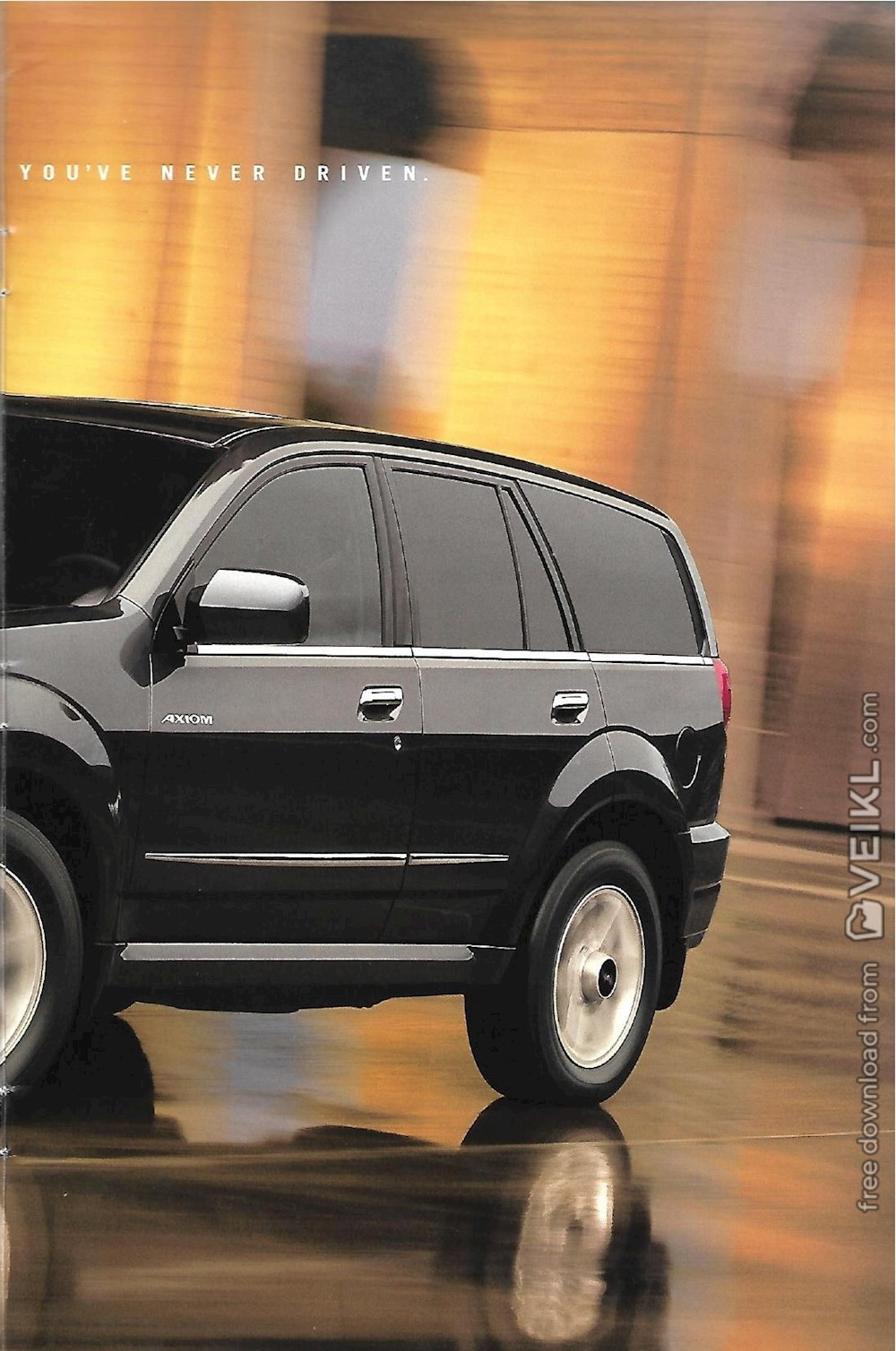 Isuzu Axiom Brochure 2002 EN