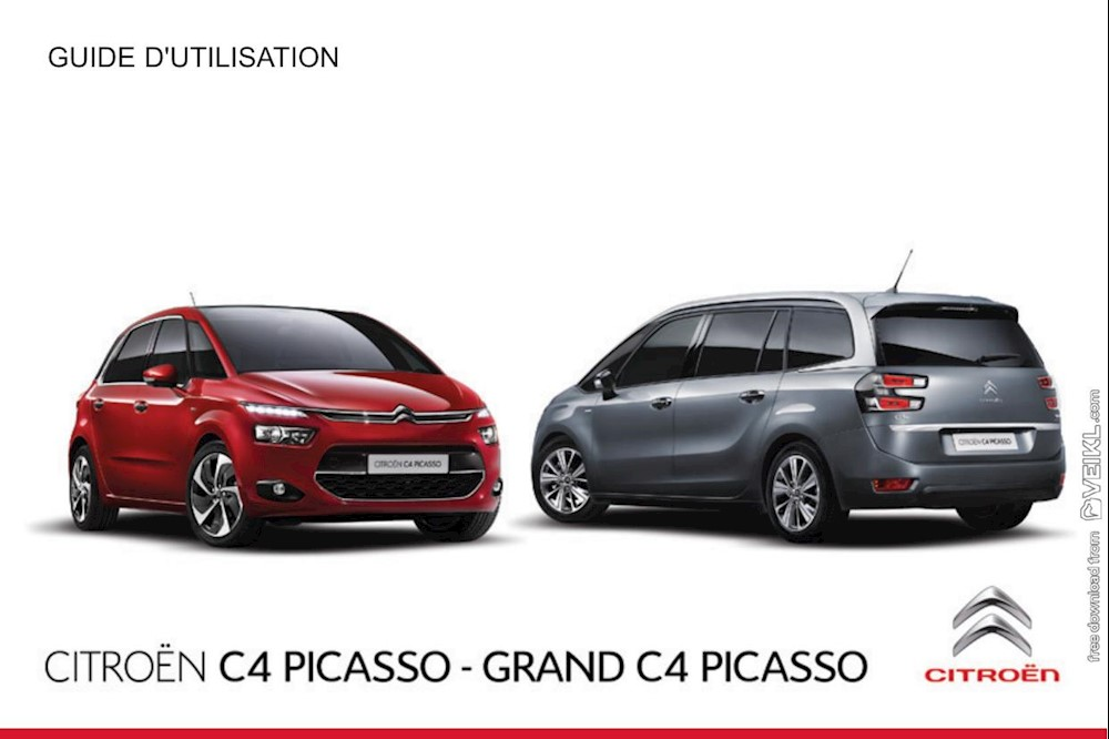 Citroen C4 Picasso / Grand C4 Picasso Owner's manual 2015 FR