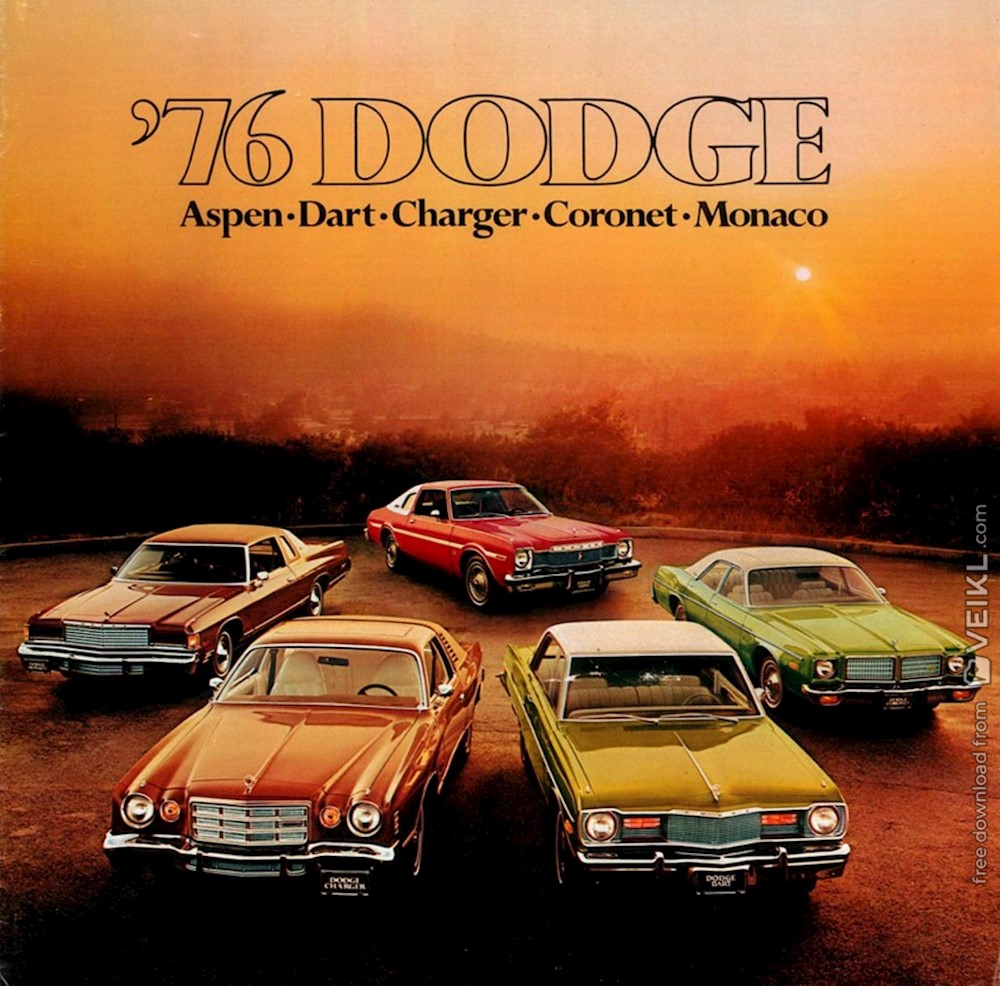 Dodge Full Line Brochure 1976 EN