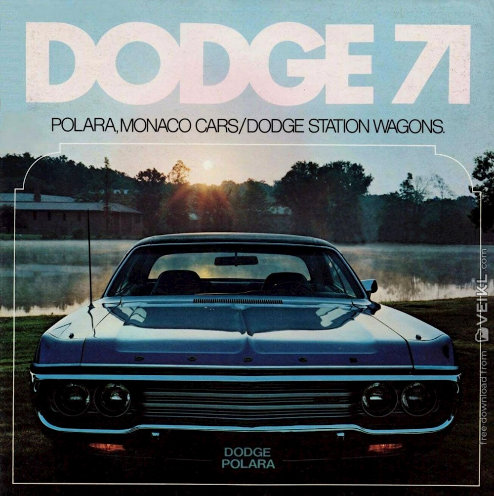 Dodge Monaco / Polara Sedan and Wagons Brochure 1971 EN