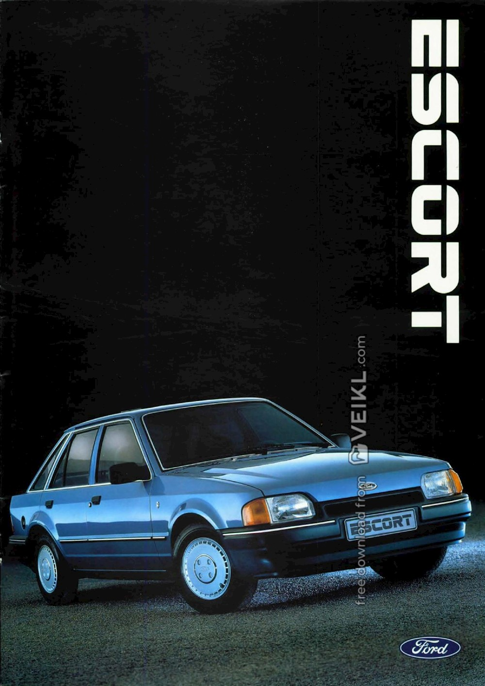 Ford Escort Brochure 1987 NL