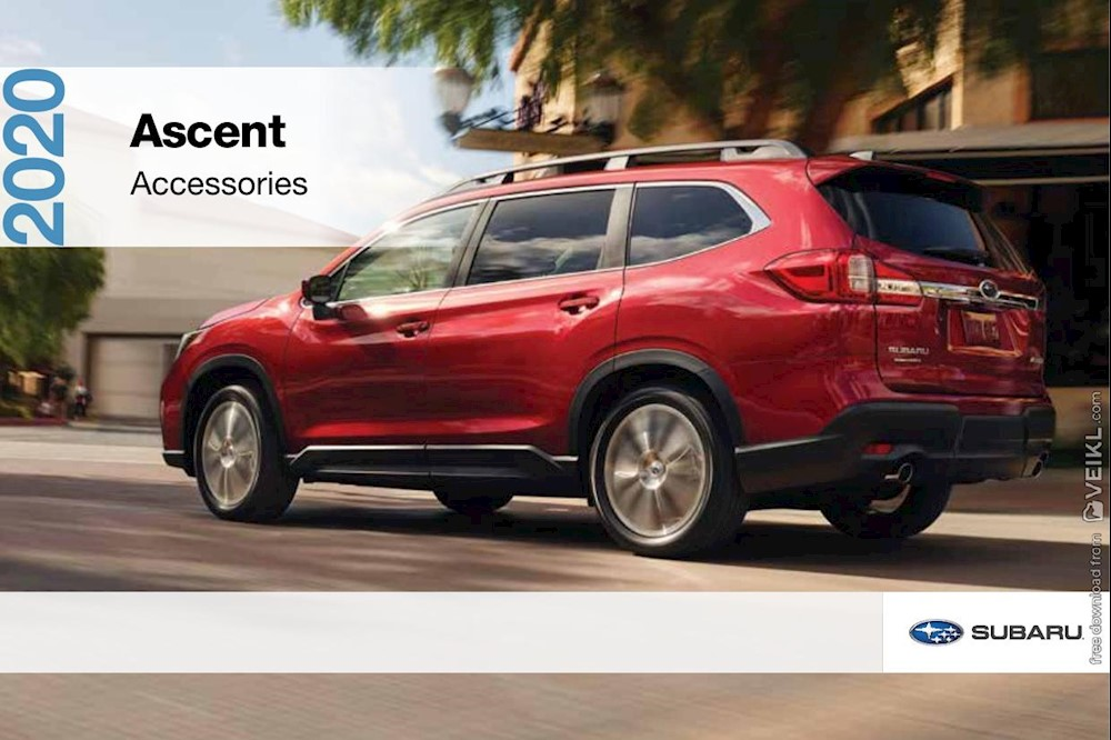 Subaru Ascent Accessories Brochure USA 2020 EN