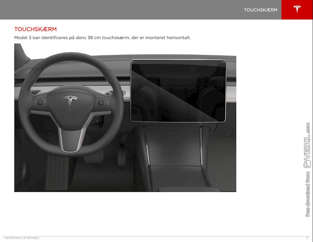 Tesla Model 3 Emergency Response Guide 2019 DA