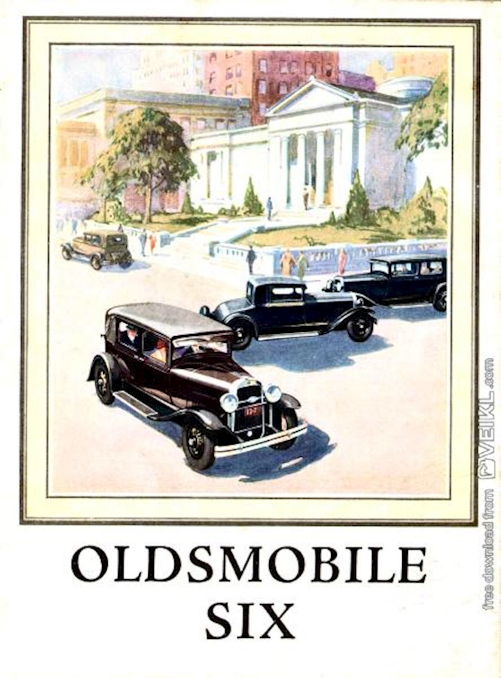Oldsmobile SIX Full Line Brochure 1929 EN
