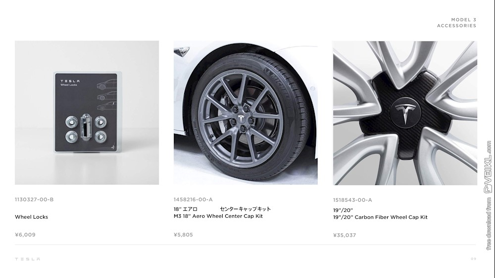 Tesla Model 3 Upgrades and Accessories Japan 2020 JP