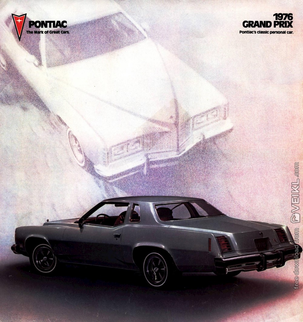 Pontiac Grand Prix Brochure 1976 EN