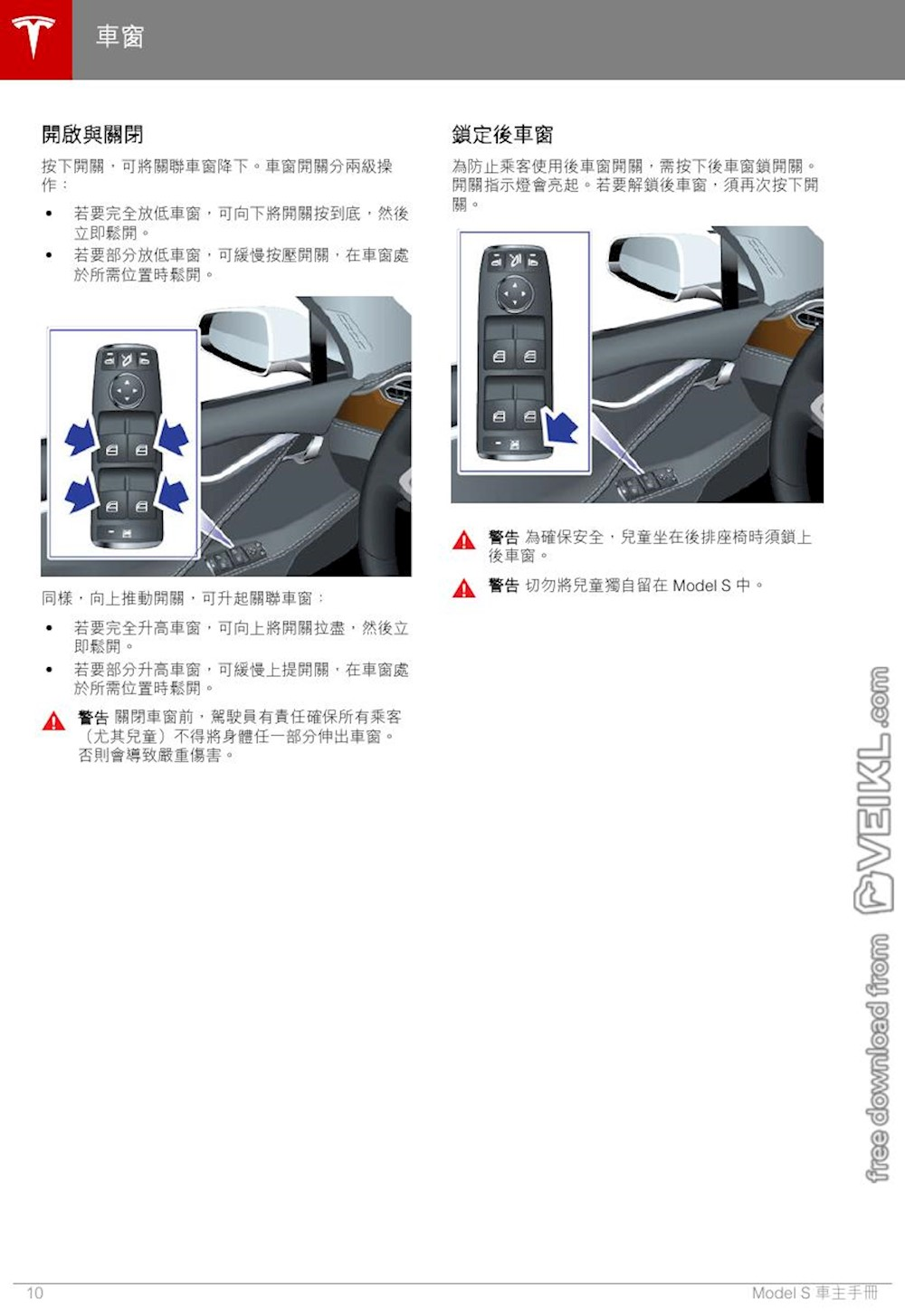 Tesla Model S Owner's manual Macau 2019 ZH