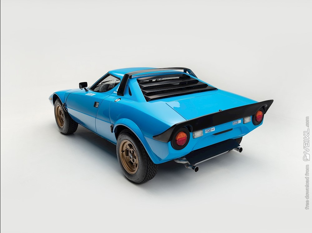 Lancia Stratos HF Stradale by Bertone Wallpaper 1975 9