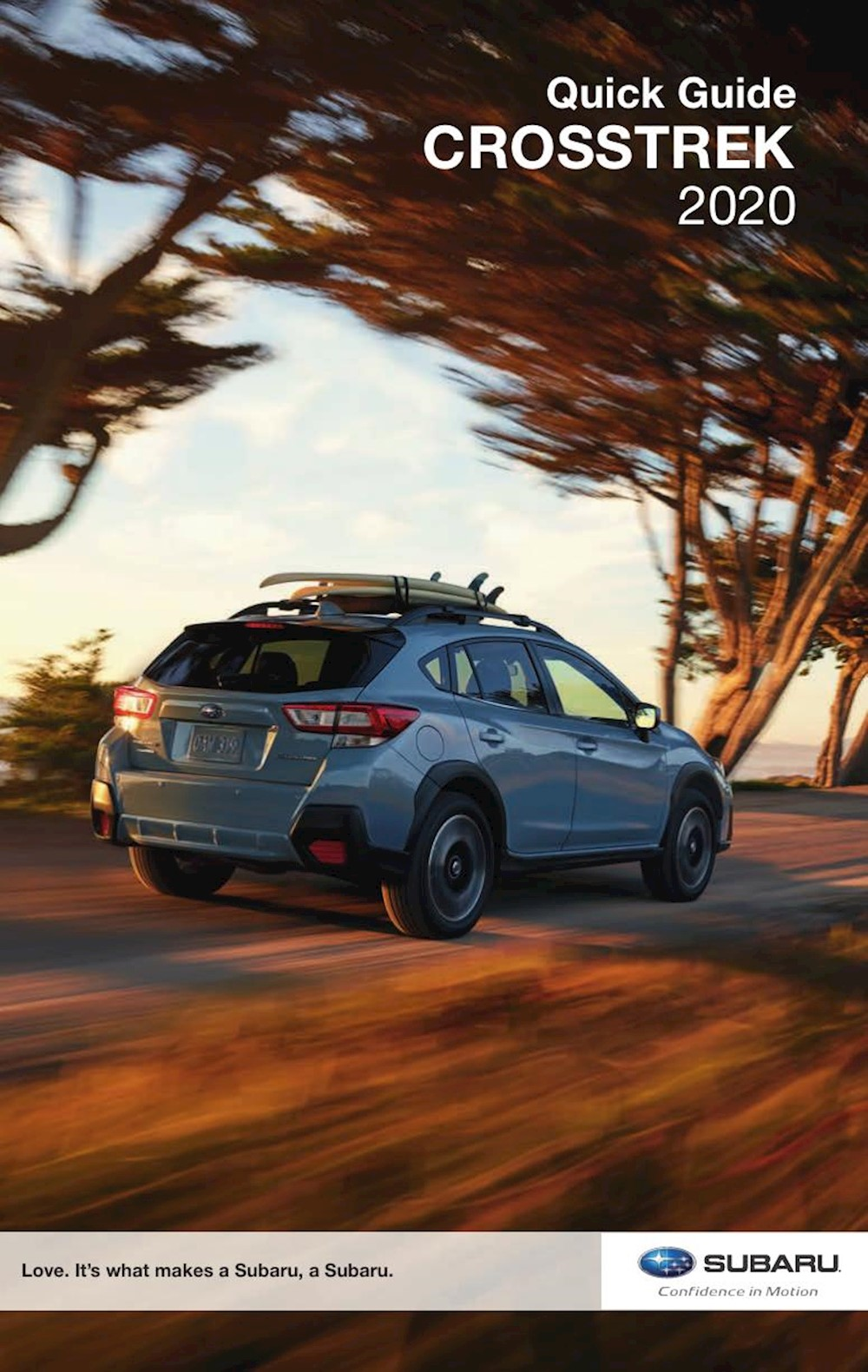 Subaru Crosstrek Quick Guide 2020 EN