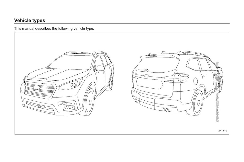 Subaru Ascent Owner's manual 2020 EN