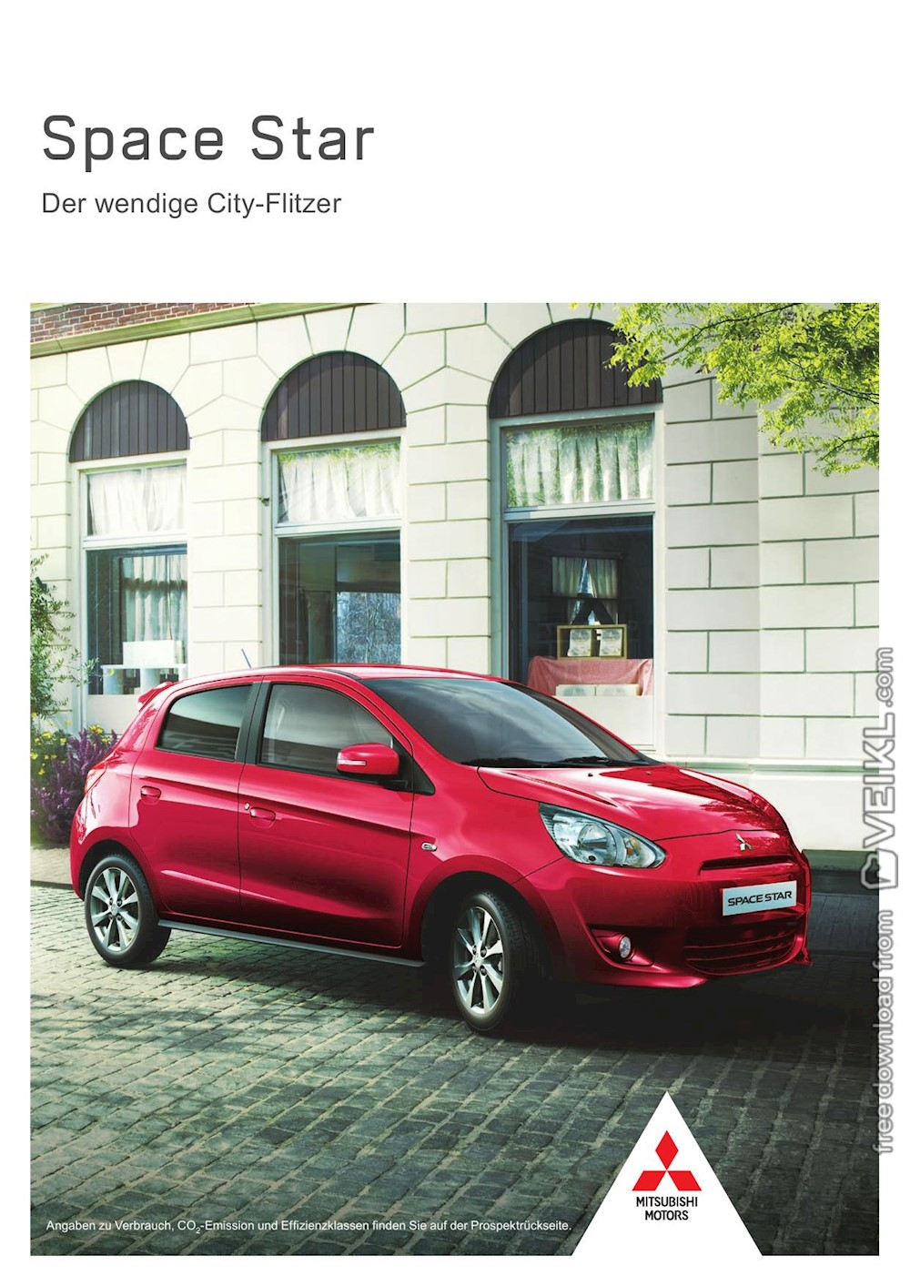 Mitsubishi Space Star Brochure 2015 DE