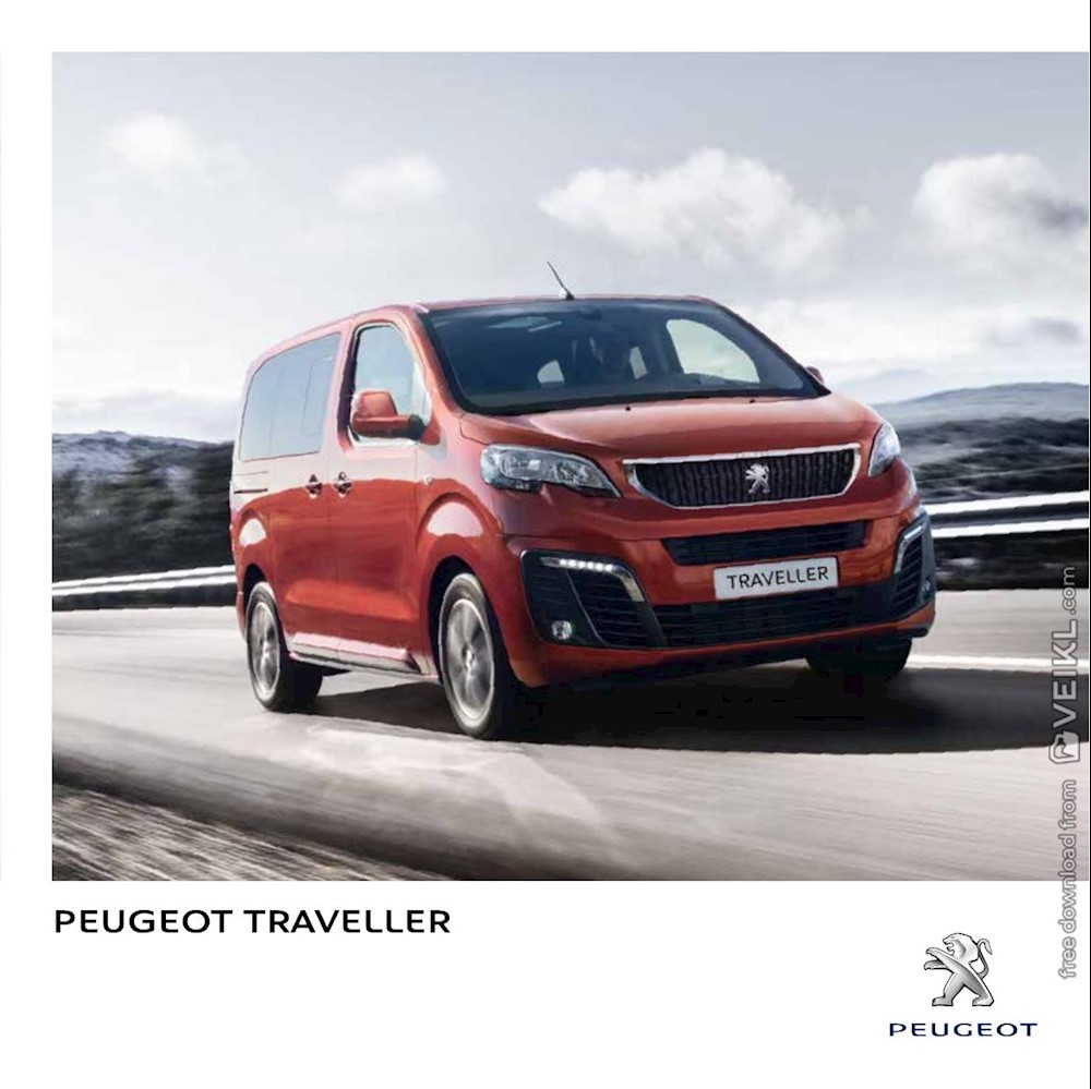 Peugeot Traveller Brochure 2018 IT