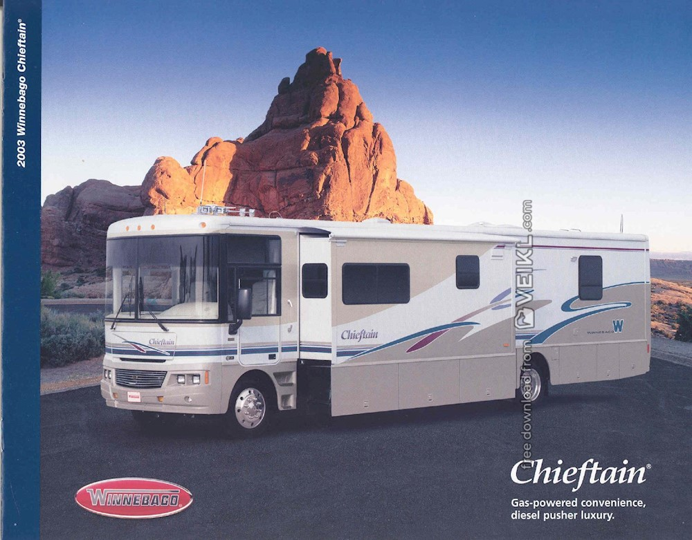 Winnebago Chieftain Brochure 2003 EN