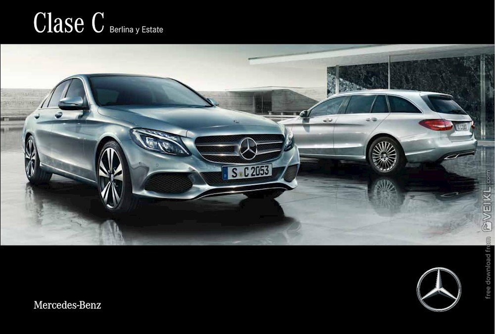 Mercedes Benz Clase C Berlina / Estate Brochure 2016 ES