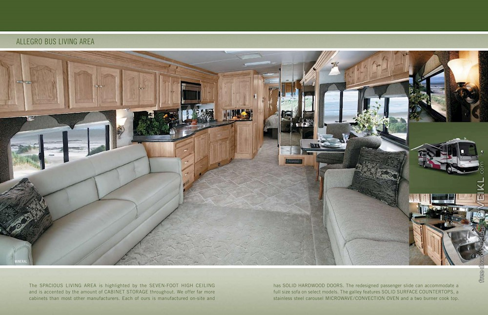 Tiffin Motorhomes Allegro Bus Brochure 2005 EN