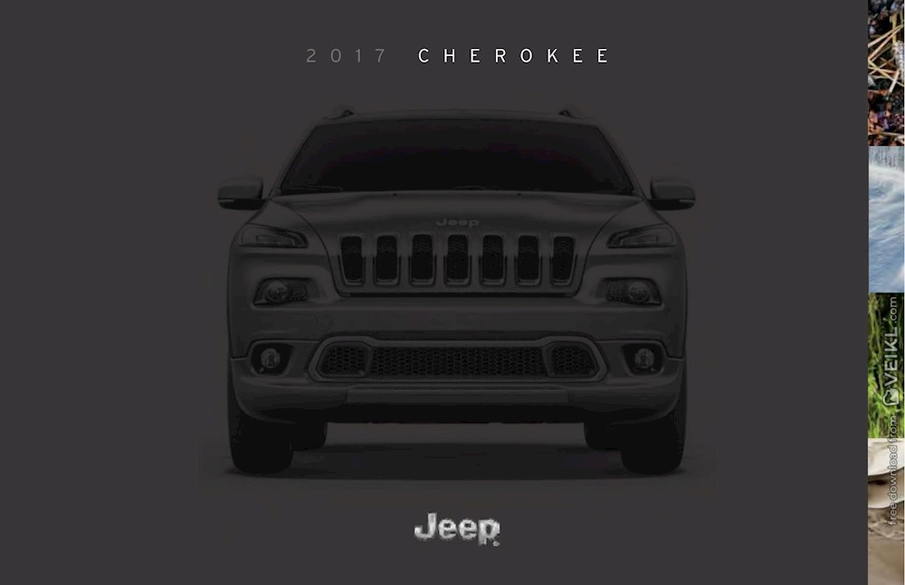 Jeep Cherokee Brochure 2017 EN USA