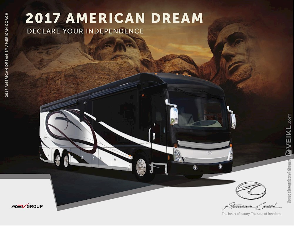American Coach Dream Brochure 2017 EN