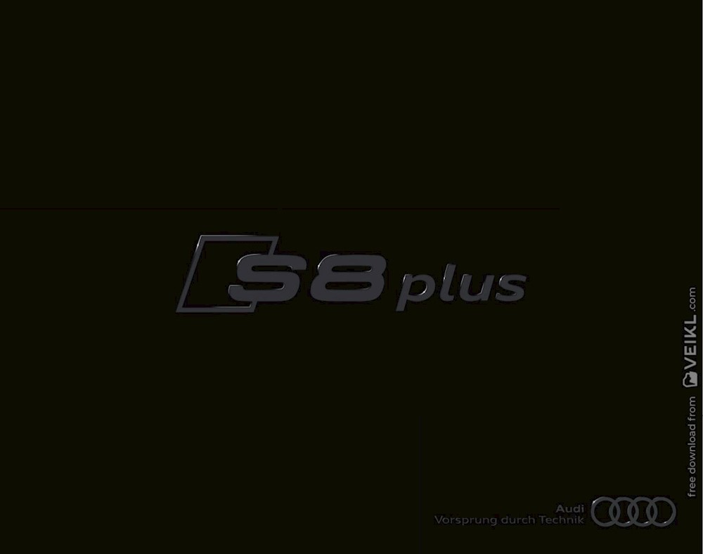 Audi A8 S8 Plus Brochure 2015 DE German