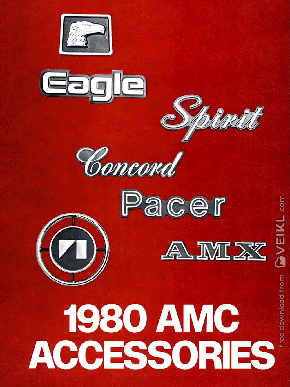 AMC Accessories Brochure 1980 EN