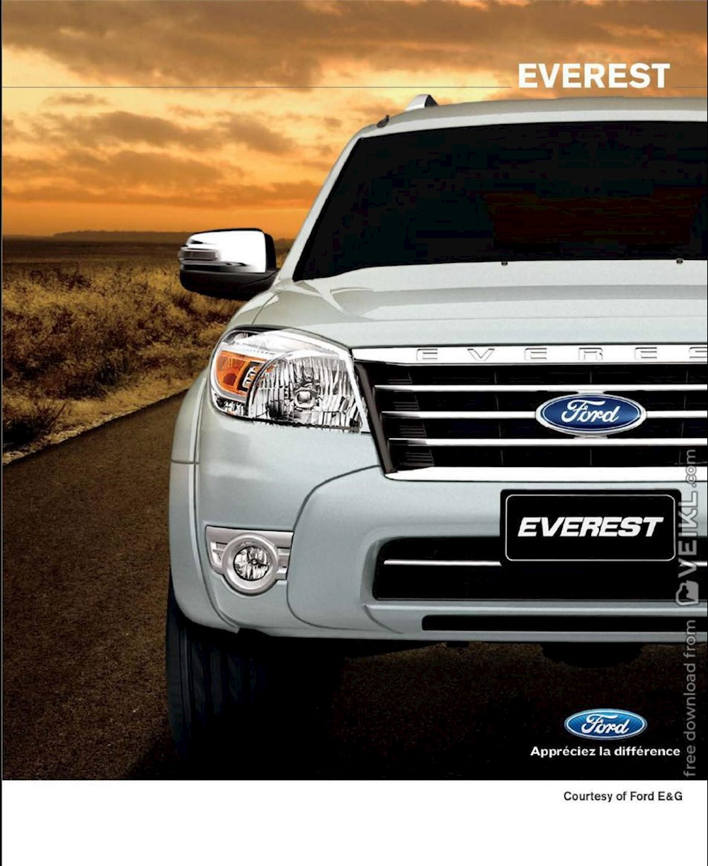 Ford Everest Brochure 2012 FR Asian Pacific