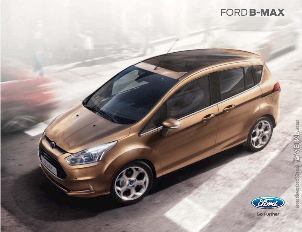 Ford B-Max Brochure 2014 IT Italy