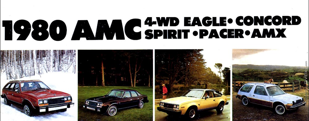 AMC Full Line Brochure 1980 EN