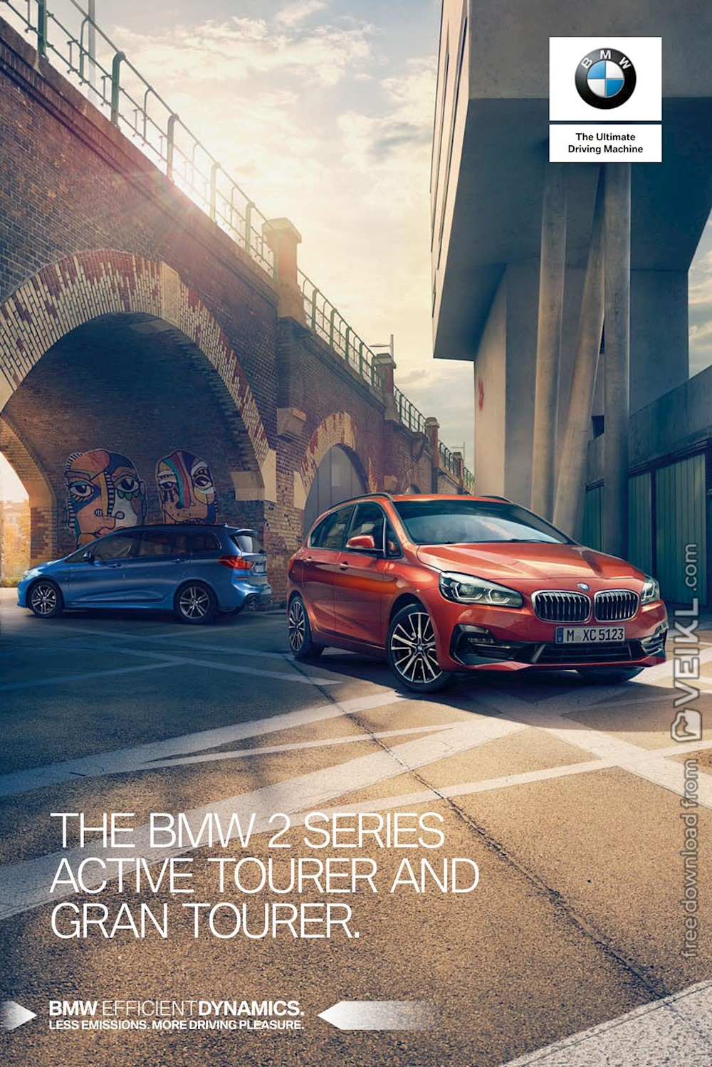 BMW 2-Series Active Tourer / Gran Tourer Brochure UK 2019 EN