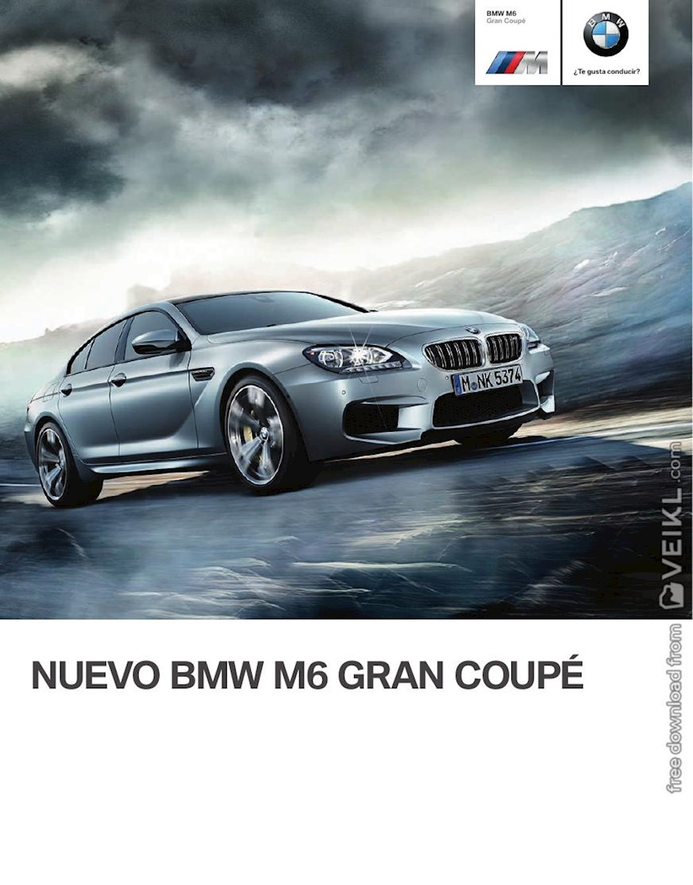 BMW M6 Gran Coupé Brochure 2013 ES