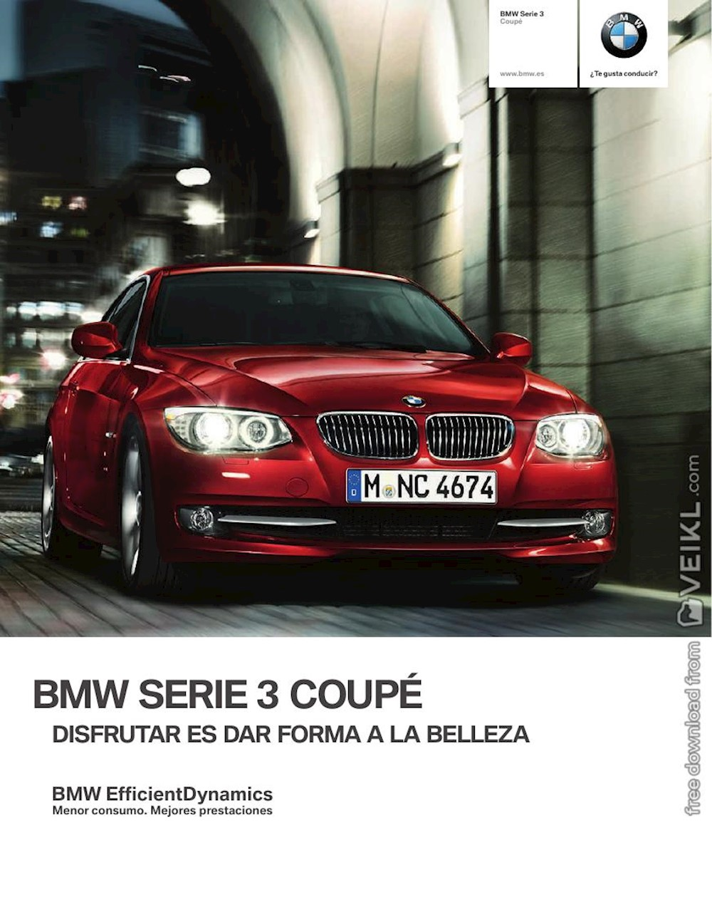BMW 3-Series Coupé Brochure 2012 ES