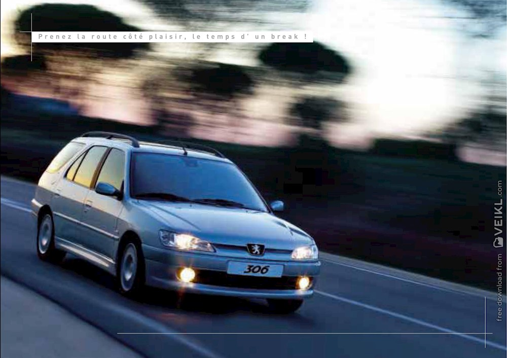 Peugeot 306 Break Brochure 2001 FR