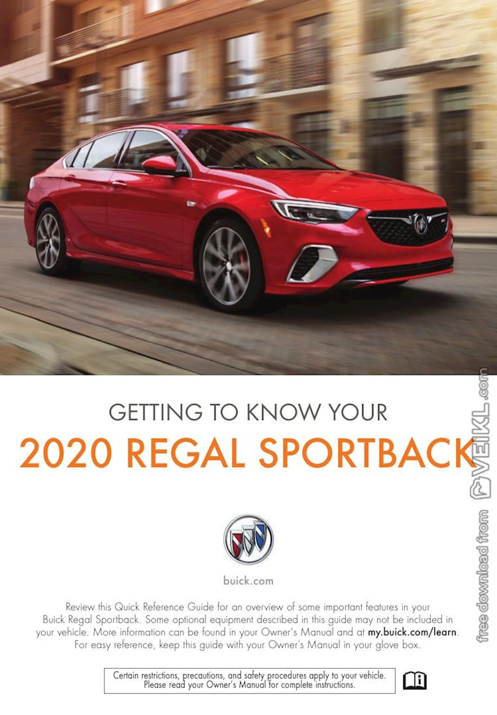 Buick Regal Sportback Getting To Know Your 2020 EN