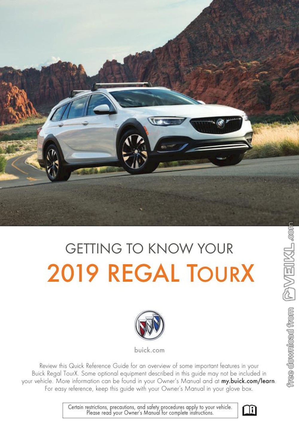 Buick Regal TourX Getting To Know Your 2019 EN